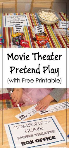 printable play tickets 32 free pretend play printables plays libraries and cards