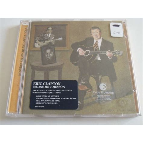 Eric Clapton Me And Mr Johnson Vinyl - me and mr johnson by eric clapton cd with pitouille ref
