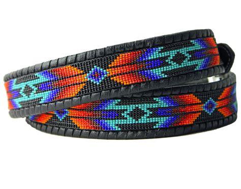 beadwork belt cheyenne war shield beaded belt by wendy capek patterns