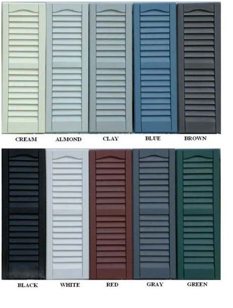 shutter colors t1 11 vinyl options lancaster county barns