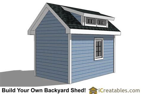 shed plans  dormer icreatablescom