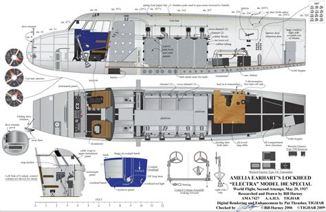 Air Force One Floor Plan by The Harney Drawings