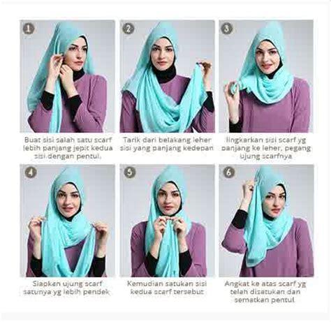 tutorial hijab segitiga gambar contoh gambar tutorial hijab modern simpel terbaru 2016
