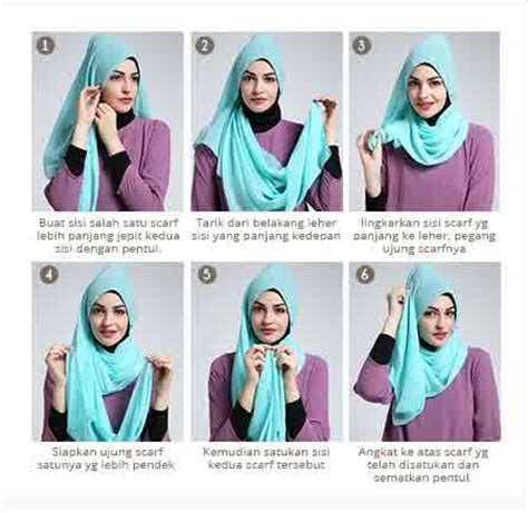 tutorial hijab wisuda gambar contoh gambar tutorial hijab modern simpel terbaru 2016