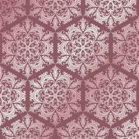 damask pattern freepik pattern background with luxury damask style design vector