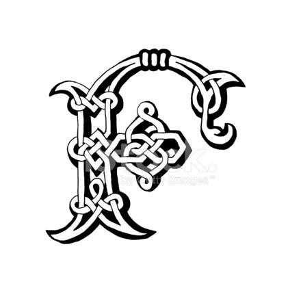 celtic letter f stock vector freeimages.com
