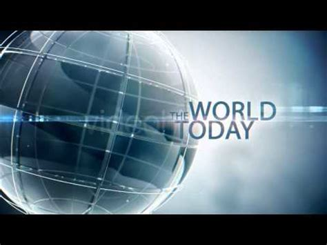 free after effects template project file the world today