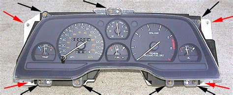 how cars engines work 1995 ford escort instrument cluster ford thunderbird odometer not working