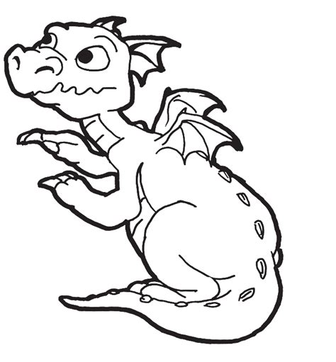 Coloring Pages Of Baby Dragons | baby dragon coloring pages coloring home