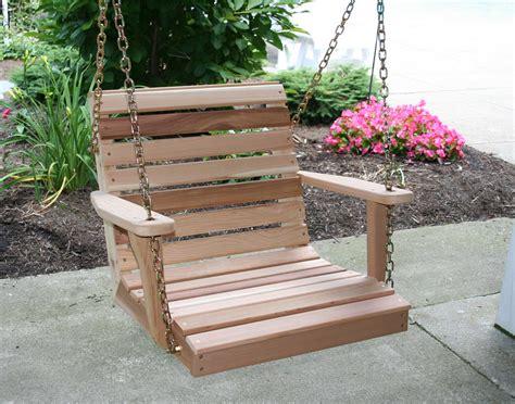 Porch Swing by Cedar American Classic Porch Swing