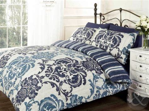 Set Luxury Navy blue home and damasks on