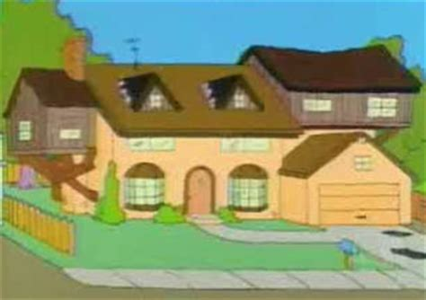 742 evergreen terrace floor plan 742 evergreen terrace simpsons wiki