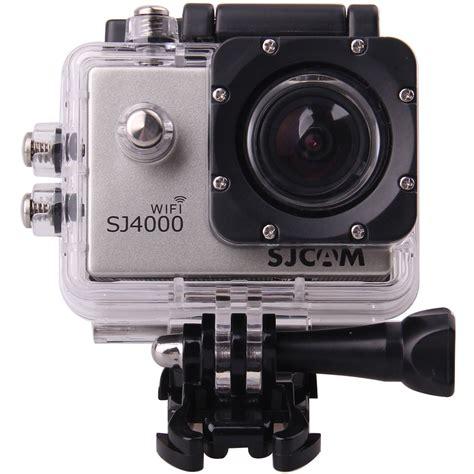 Sjcam Sj4000 sjcam sj4000 with wi fi silver sj4000wfs b h