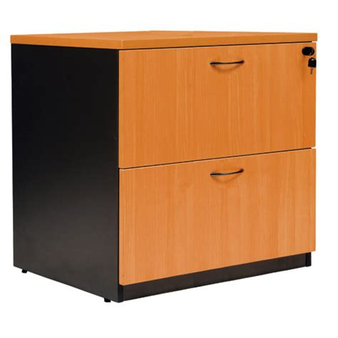 logan wooden 2 drawer lateral filing cabinet office