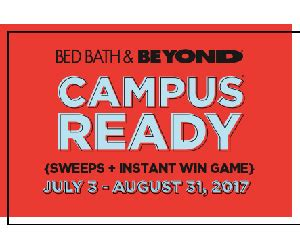 Bed Bath Beyond Holiday Sweepstakes - bed bath beyond cus ready sweepstakes sweepstakes and more at topsweeps com