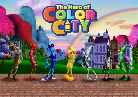 what color is heron gfl animation studios the of color city