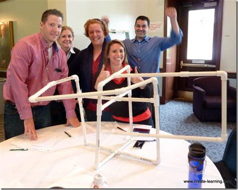 Teamwork Exercise Mba by How Is Connecting Pvc Pipe Into A Closed Structure