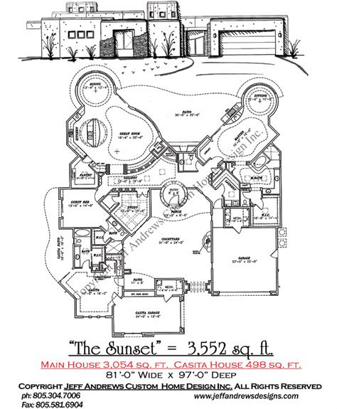 andrews home design group the sunset 3 552 00 andrews home design group st