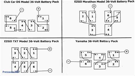 36 volt club car golf cart wiring diagram club car golf
