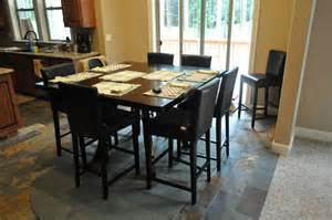 Black square dining tables upholstered chairs contemporary dining