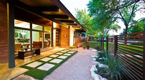 modern home landscaping forget the traditional look modern front yard