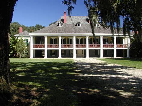House Plans With Wrap Around Porch Destrehan Plantation Manor Photo John S Perilloux
