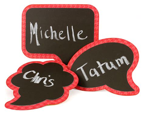 chalkboard paint name tags seven days of bonus bash for craft room members