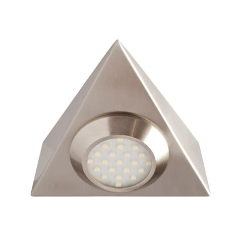 robus led cabinet strip lights white robus triangular mains voltage led cabinet light brushed