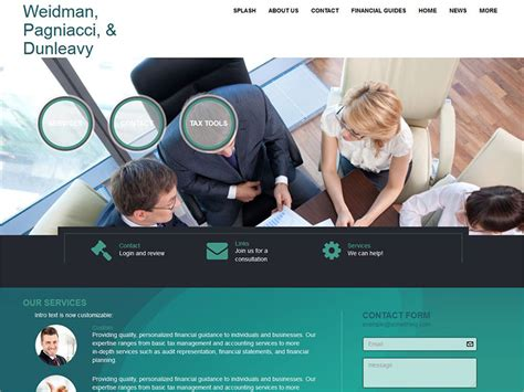 best news site websites for accountants web builder cs formerly emochila