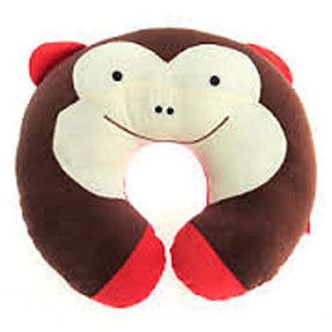 Monkey Neck Pillow by Baby Toddler Travel Neck Pillow Headrest Monkey Dealtrend