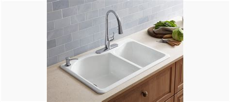 top mount kitchen sink no holes lawnfield top mount kitchen sink w four faucet holes k