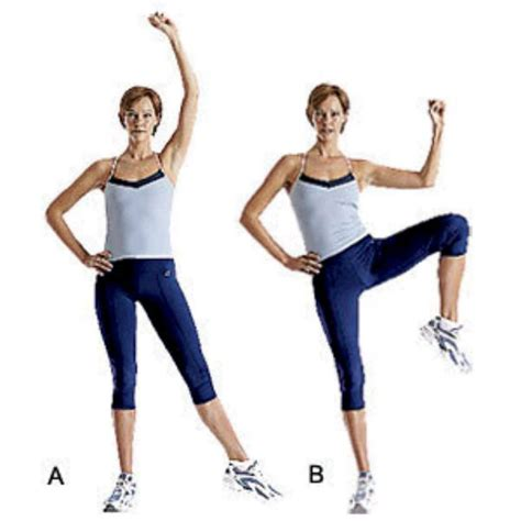 standing oblique crunches exercise how to workout trainer by skimble