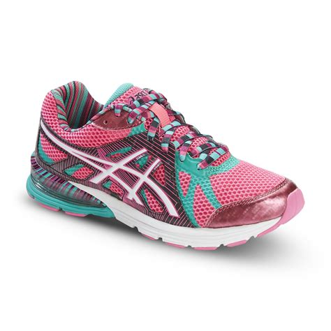 neon laces for running shoes asics s gel preleus neon pink aqua striped running