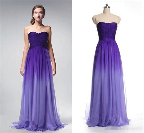 purple evening formal dresses overstock shopping 2016 actual photo prom dresses gradient ombre backless