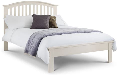 curved bed frame oak or stone white finish wooden bed frame curved slatted