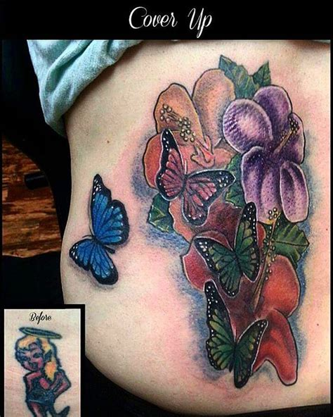butterfly tattoo cover up designs 49 best butterfly tattoo images on pinterest butterfly