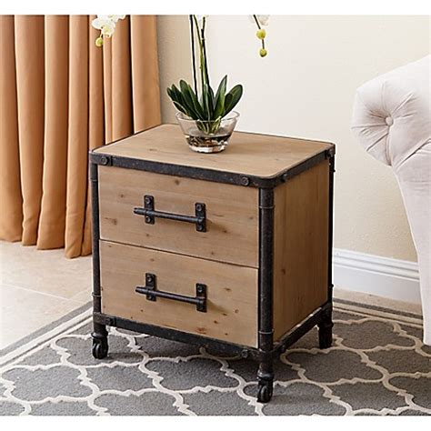 Bed Bath And Beyond Nightstand by Abbyson Living 174 Northwood Nightstand In Bed Bath