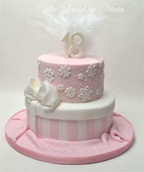 18th Birthday Cakes by 18th Birthday Cake Cakeland By Nivia Flickr