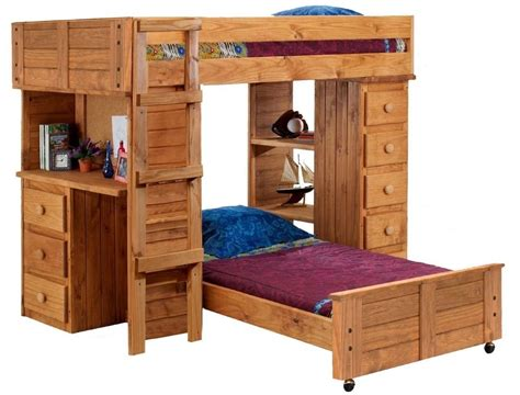 loft bed with desk and drawers solid wood bunk bed with desk and drawers 28 images