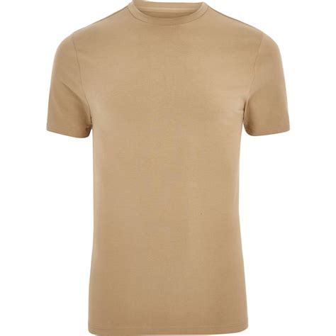 light brown t shirt big and tall light brown muscle fit t shirt t shirts