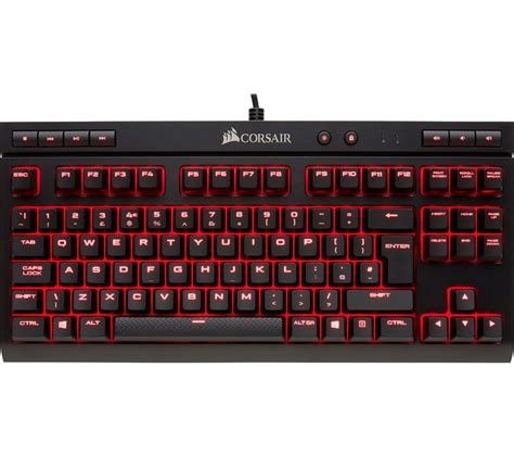 Keyboard Gaming Corsair K63 corsair k63 compact mechanical gaming keyboard deals pc world