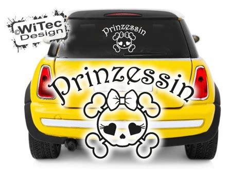 Autoaufkleber Prinzessin by Autoaufkleber Totenkopf Skull Prinzessin Auto Aufkleber