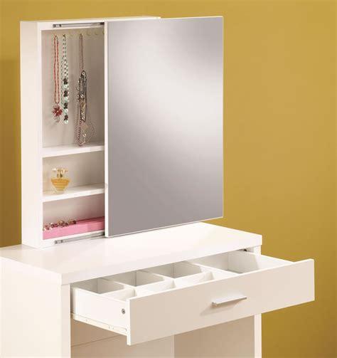Vanity Mirror Storage contemporary vanity furniture store chicago