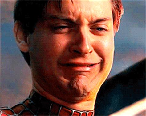 Spiderman Meme Gif - spider man crying gif find share on giphy