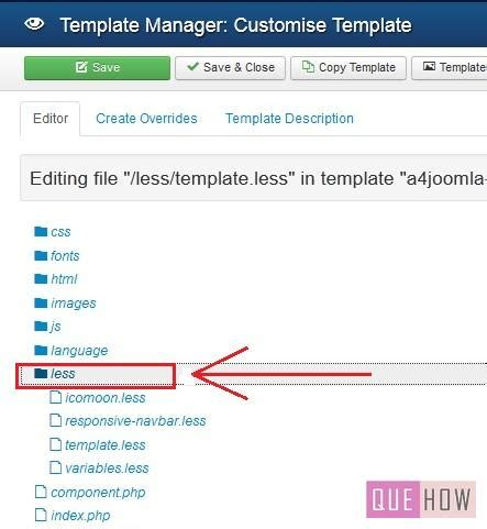 how to edit a template in how to edit a template in joomla 3 x 10 steps with