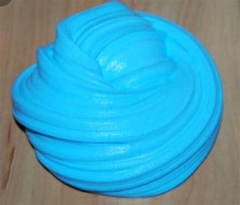 Blue Fluffy blue fluffy slime