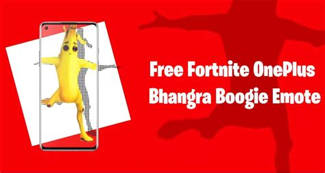 fortnite bhangra boogie emote  oneplus devices