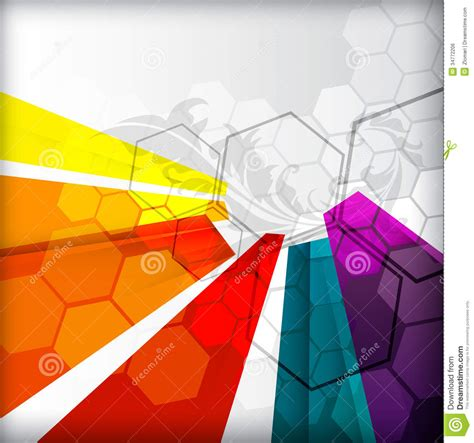 background design and layout illustrated colorful layout with abstraction royalty free