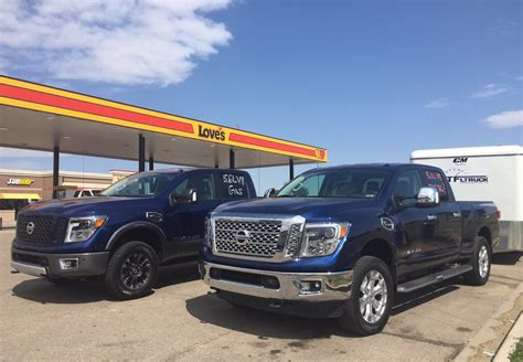 is diesel still the mpg king 2016 nissan titan xd gas vs
