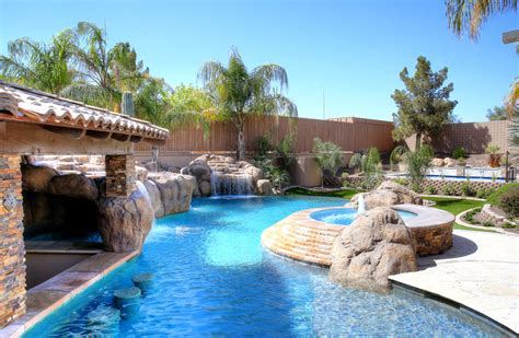 Backyard Pools In Arizona Presidential Pool Park Presidential Pools Spas Patio